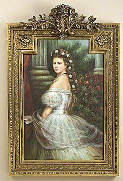 276: Fine French Framed Art Work