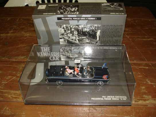 1071: Kennedy Assassination  Vehicle Die Cast