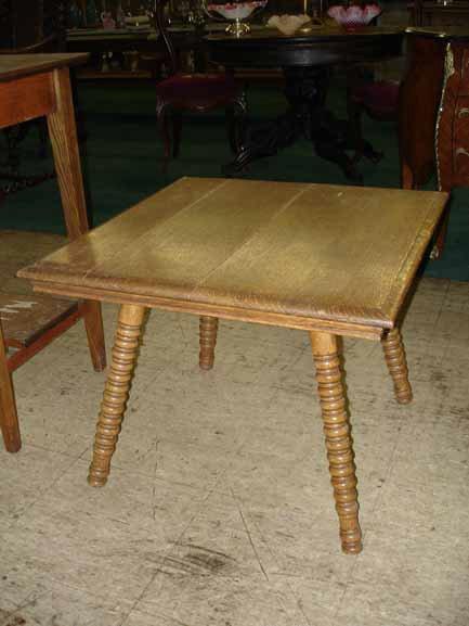 1079: Oak Lamp Table