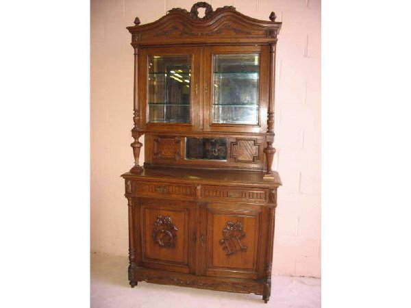 7: Classic Design French Sideboard with China Top