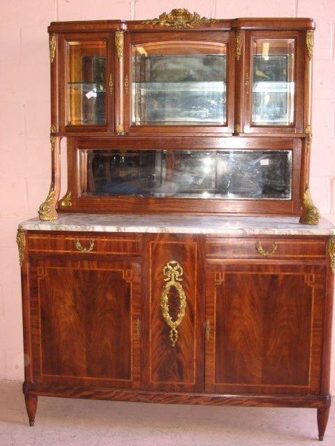 24: Fine Louis XVI Marble Top Sideboard