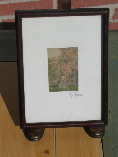 1024: Miniature Watercolor by Fred Thompson