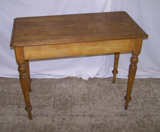 7003: Victorian Oak Library Table