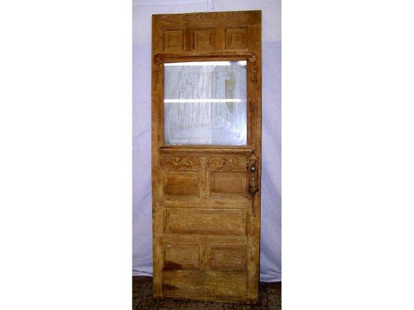 7009F: Antique Wood Core Door