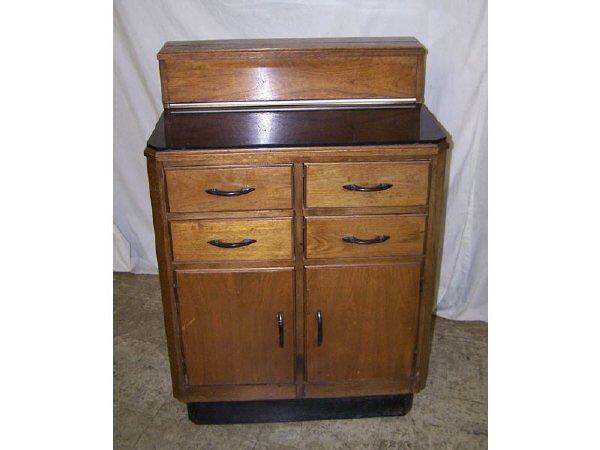 7009J: Art Deco Dental or Medical Cabinet