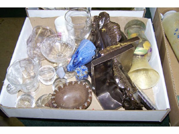 5: Boxed Lot Assorted Glassware
