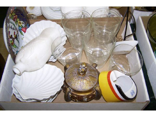 7: Boxed Lot assorted Glassware