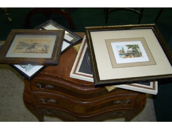 8: Lot of Assorted Prints