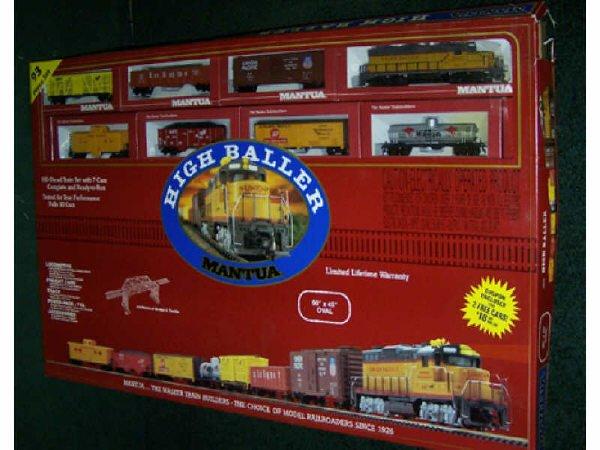 14: Mantua High Baller HO Scale Train Set