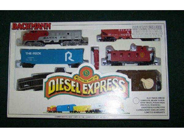 16: Diesel Express Train Set