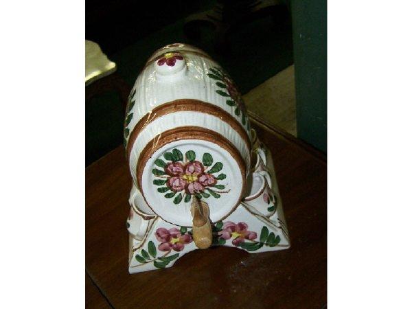 18: Ceramic Liquor Set and stand