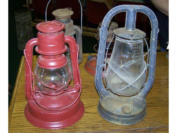 21: 2 Railroad Lanterns