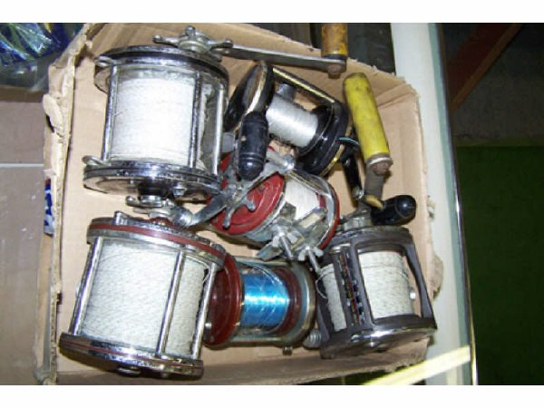 233: Lot of 6 Assorted Fishing Reels