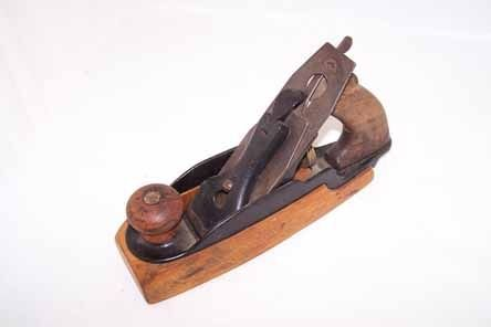 309: Antique Wooden Block Plane by Bailey