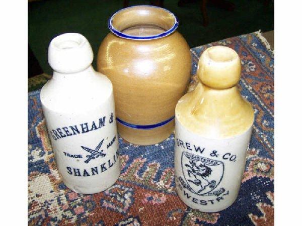 553: Lot of 3 alt Glaze Crockery Items