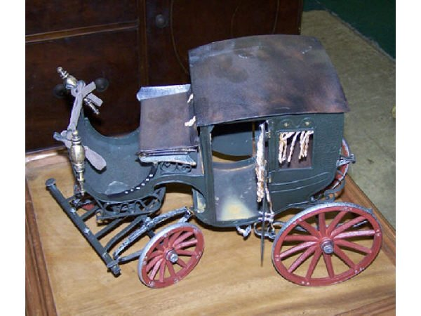549: Scale Model Tin Toy  Countess Coach