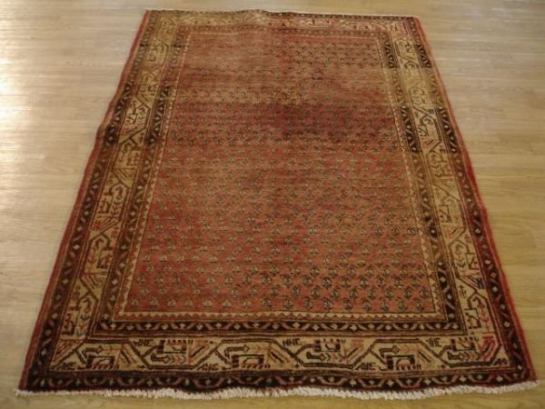 1006: A Good  Hand Woven Botemir Persian Rug