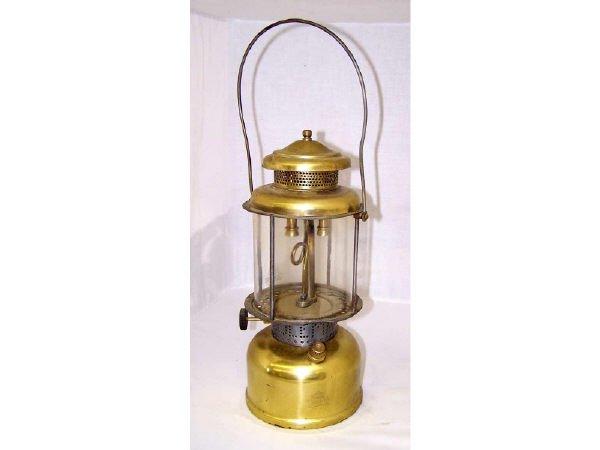 1358: Brass Coleman Lantern