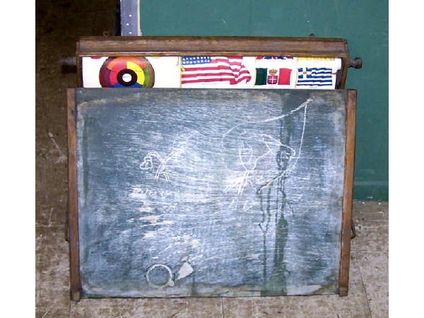 1306: Childs Blackboard and Geography Helper