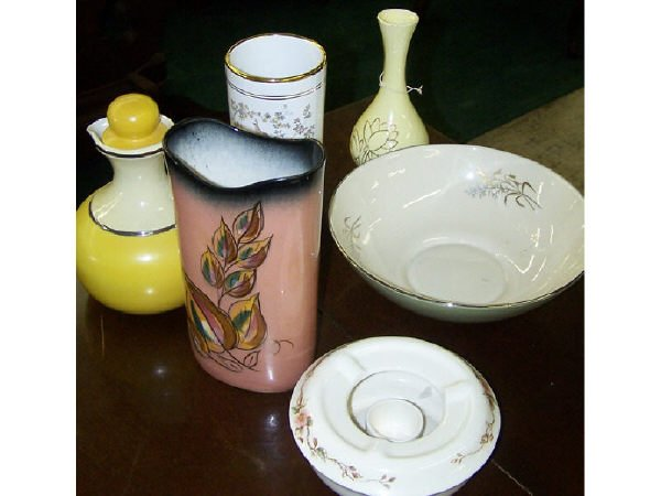 1320: Lot of Assorted Pottery and Porcelain Items