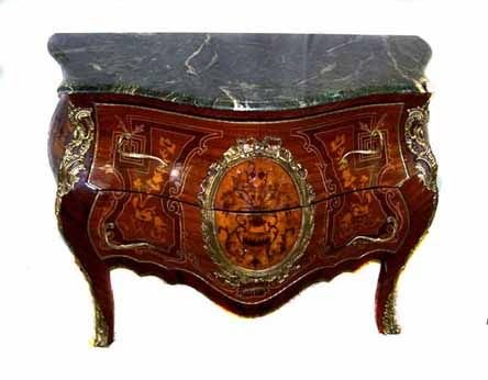 4: French Bombay Inlaid Commode