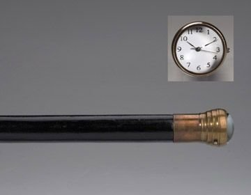 21: Walking Stick with Watch