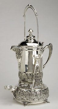 1769: Victorian Style Silverplated Tippler