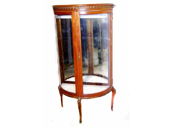 200: French Demi Lune China Cabinet