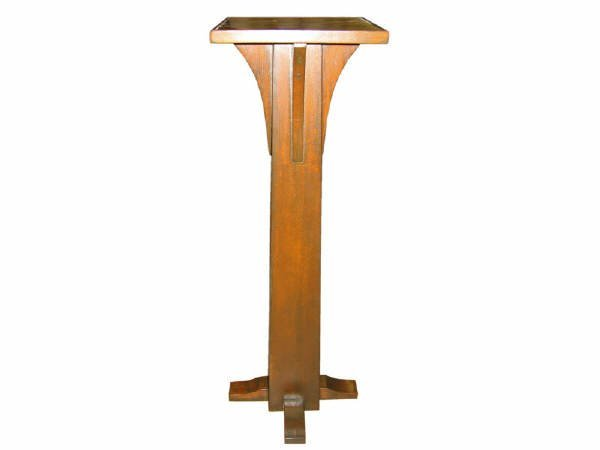 1853: Mission Oak Style Plant Stand