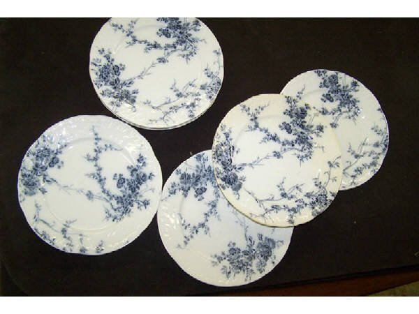 1419: Lot of 19th Century Booths Porcelain Plates