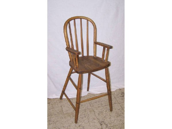 1425: Antique Youth Hi Chair
