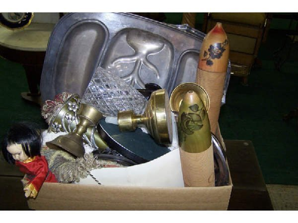 4: Assorted Box Lot of Miscellaneous