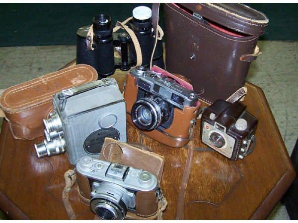21: Assorted Vintage Cameras