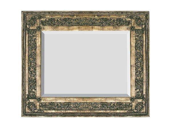 676: Fine Heavy Carved Scroll Work Mirror