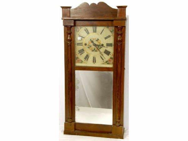 942: Daniel Pratt 8 Day Clock