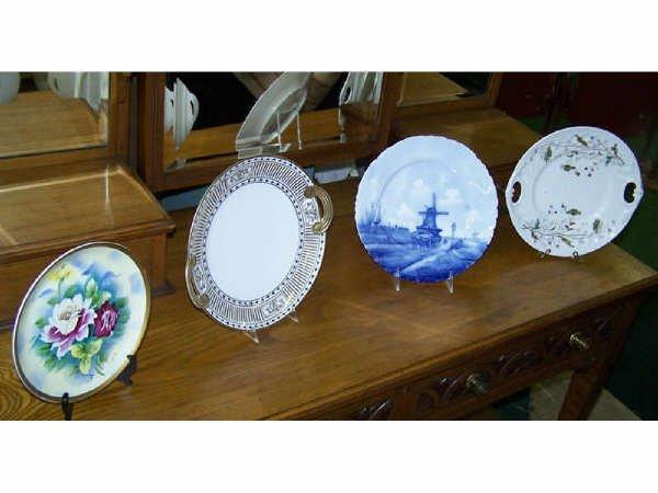 819: Lot of Assorted Porcelain Plates