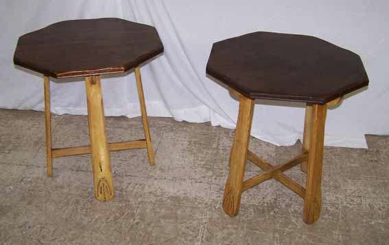834: Pair of Monterey Lamp Tables