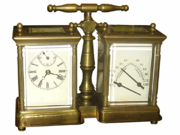 506: Double Carriage Clock and Barometer