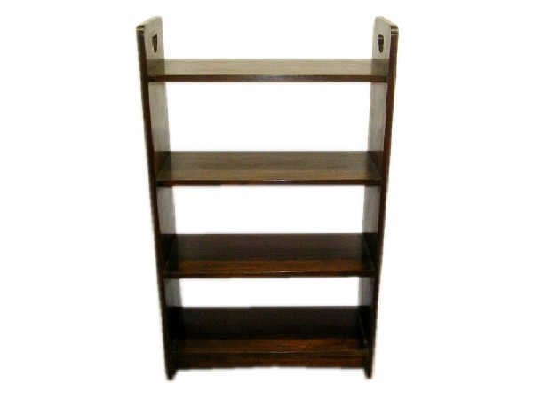515: Mission Oak Style Open Bookcase