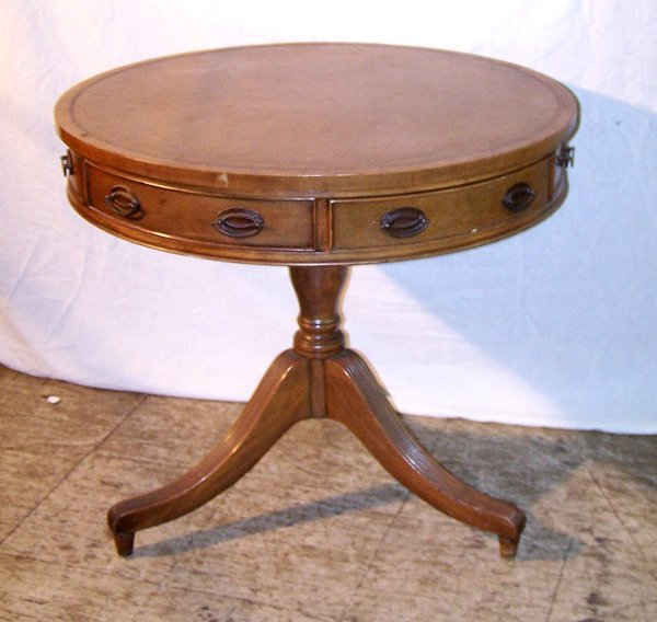 11: A Good Duncan Phyfe Revival Drum Table