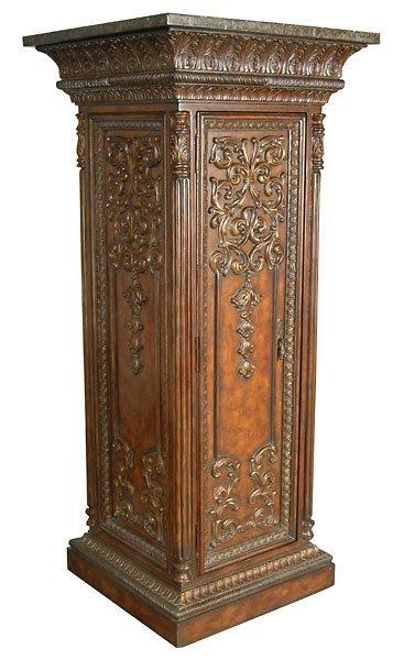3014: Fancy Carved Architecural Pillar