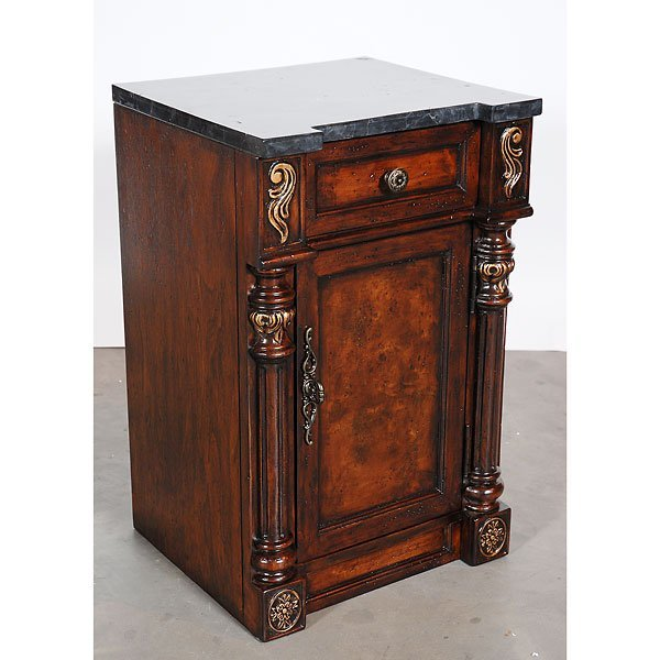 6019: Fine French Style Cupboard Cabinet