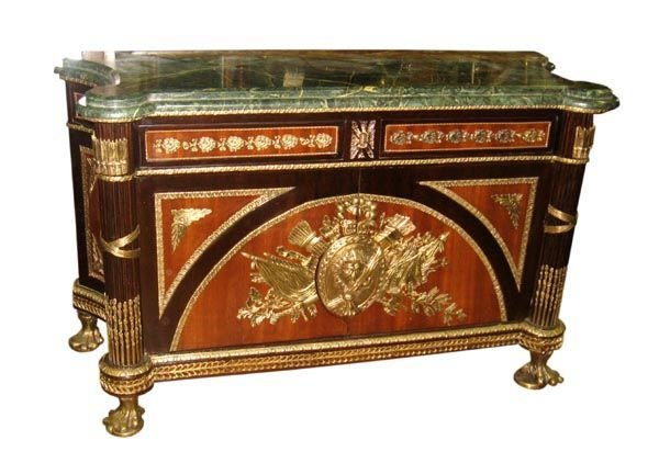 6025: Fine French Marbletop Commode Chest