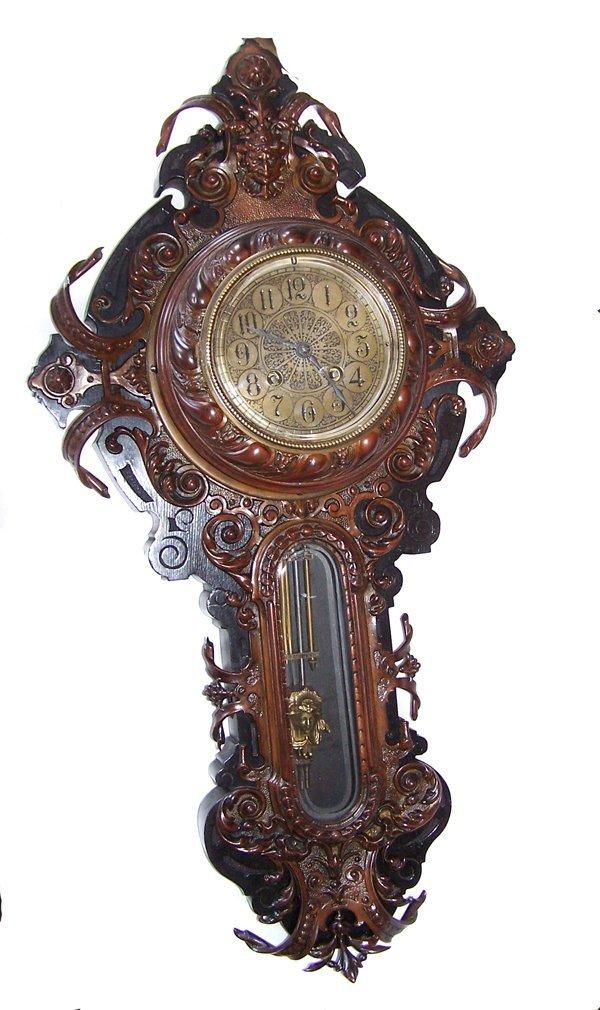 6A: Lenzkirch Vienna BRONZE Wall Clock