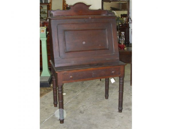 11: A Good Victorian Slant Front Butlers Desk