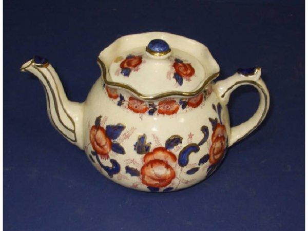 1D: Arthur Wood Decorated Tea Pot