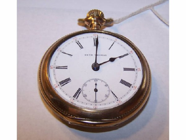 10010o: Seth Thomas 17 Jewel GF Pocket Watch