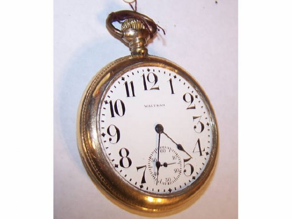 10019o: Waltham 1903 Vanguard Railroad Pocket Watch