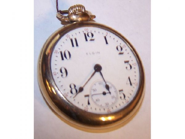 10020o: Elgin 349 Railroad 21 Jewel Pocket Watch