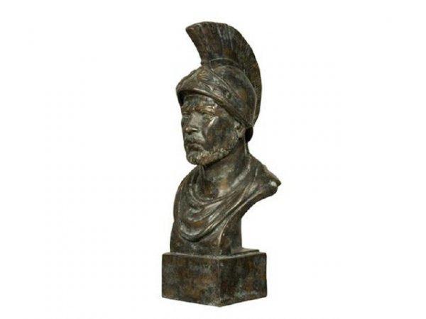 10107: Fine Roman Soldier Bronze Bust